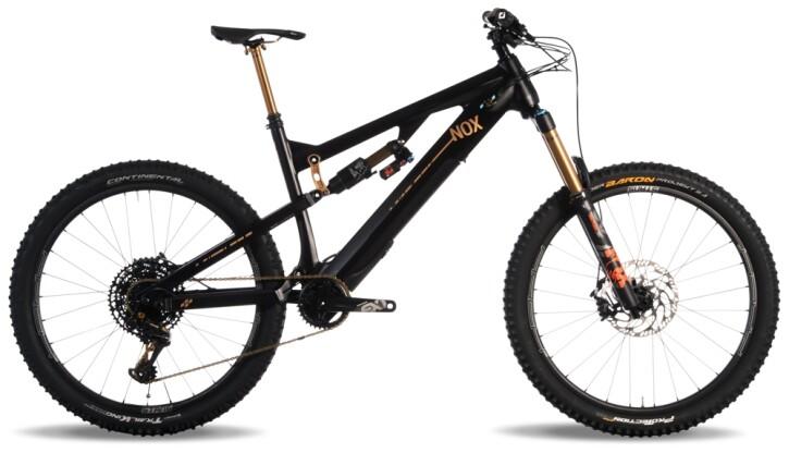 e-Mountainbike Nox Cycles Helium All Mountain 5.9 Open Source phantom 2021
