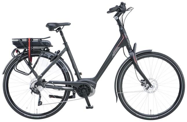e-Trekkingbike Sparta A- Shine M10b Active Plus Wave black matt 2021