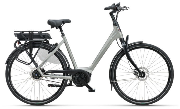 e-Citybike Sparta A-Shine M8b Belt FL Wave grey matt 2021