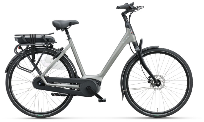 e-Citybike Sparta A-Shine M8b FL Wave grey matt 2021