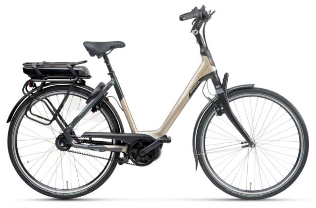 e-Citybike Sparta A-Shine M8b Belt RT Wave cashmere black 2021