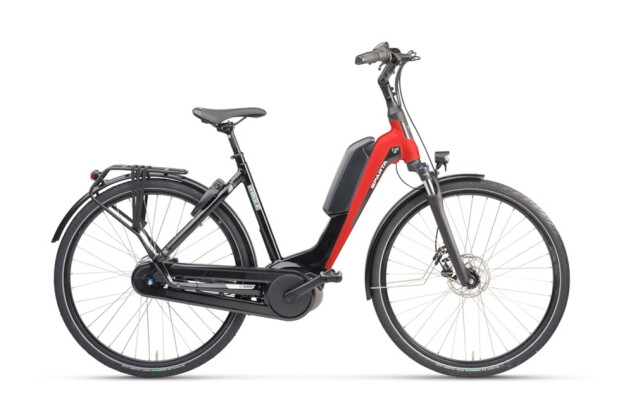 e-Citybike Sparta D-Rule M8Tb Wave black red 2021