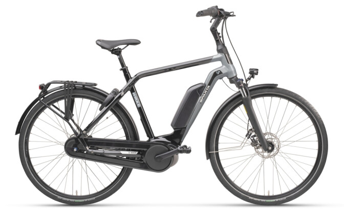 e-Citybike Sparta D-Rule M8Tb Diamant black matt 2021