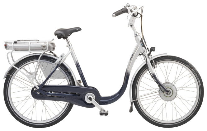e-Citybike Sparta Entree F7E Deep blue silver 2021