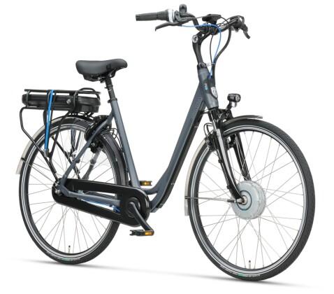 e-Citybike Sparta F8e Wave grau matt 2021