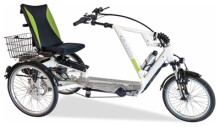 e-Liegerad Draisin SANTORIN S mit Motor
