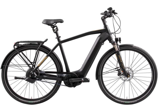 e-Citybike Hercules Futura Pro I-F360+ Diamant schwarz 2021