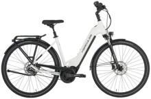 e-Citybike Hercules Pasero Comp I-F5 Zentralrohr weiß