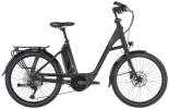 e-Trekkingbike Hercules Futura Compact 10 Zentralrohr schwarz