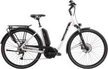 e-Trekkingbike Hercules Futura Sport 8.4 Zentralrohr weiß