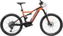 e-Mountainbike Hercules Nos FS Comp 1.1 Diamant schwarz/orange