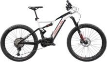 e-Mountainbike Hercules Nos FS Pro 1.1 Diamant schwarz/weiß