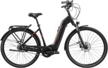 e-Citybike Hercules Intero I-R8 Zentralrohr schwarz
