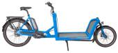 e-Lastenrad Hercules Cargo 1000 Transportrad i-blue