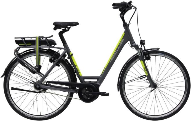 e-Citybike Hercules E-Joy R7 Zentralrohr grau 2021