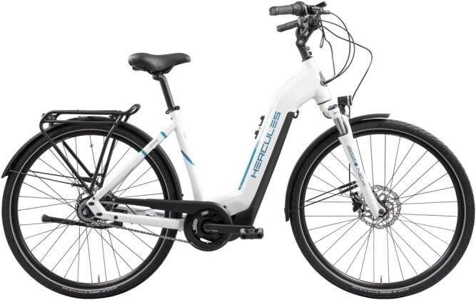 e-Citybike Hercules Intero I-R8 Zentralrohr weiß 2021