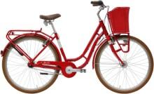 Citybike Hercules Viverty R7 LTD. Classic rot