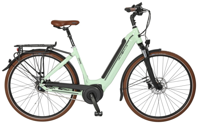 """e-Citybike Velo de Ville AEB490 Allround 28"""" 5Gg Nex DI2 FL 2021"""
