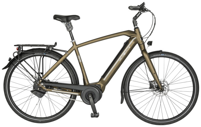 """e-Citybike Velo de Ville AEB890 Allround 28"""" 11G Alfine 2021"""