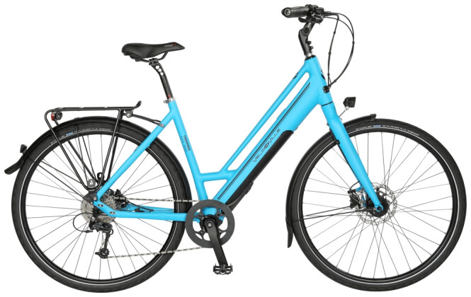 "e-Trekkingbike Velo de Ville AEF400 Fazua 28"" 12Gg XT 2021"