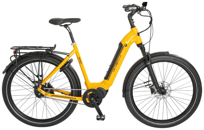 """e-Citybike Velo de Ville AES290 Allround 27,5"""" 5Gg Nex Di2 FL 2021"""