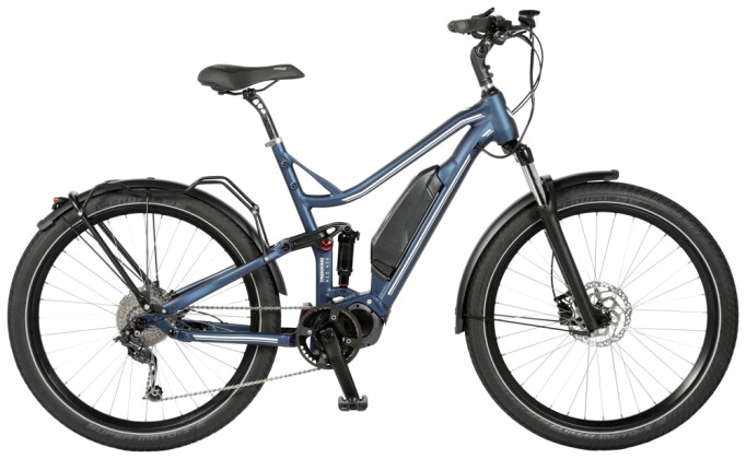e-Trekkingbike Velo de Ville AES400 Allround FS 8Gg Acera 2021