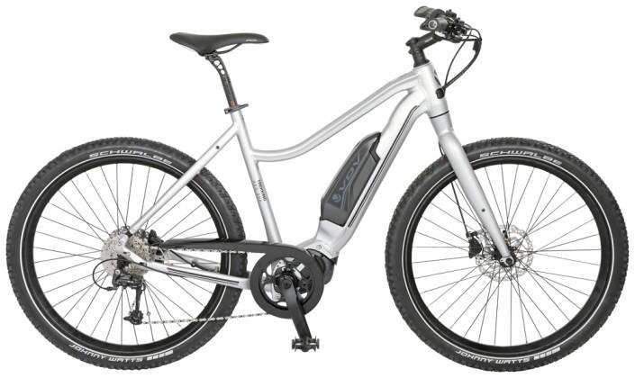 """e-Citybike Velo de Ville AES400 Allround 27,5"""" 8Gg Nex DI2 FL 2021"""