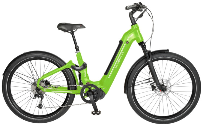 e-Trekkingbike Velo de Ville AES490 Allround FS 11Gg Deore 2021
