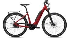 e-Citybike FLYER Upstreet5 7.83 Comf Red