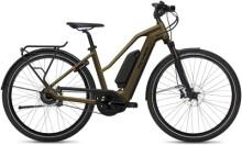 e-Citybike FLYER Upstreet4 7.83 Gents Brass m.Zus.akku