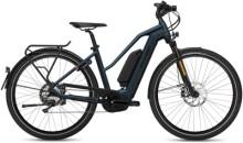 e-Citybike FLYER Upstreet4 7.10  Mixed Blue HS m.Zus.akku