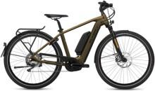 e-Citybike FLYER Upstreet4 7.10  Gents Brass HS EU m.Zus.akku