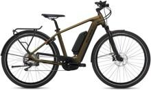 e-Citybike FLYER Upstreet4 7.70 Gents Brass m.Zus.akku