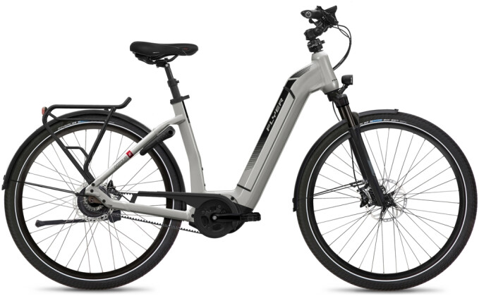 e-Citybike FLYER Gotour6 7.43 Comf Silver 2021