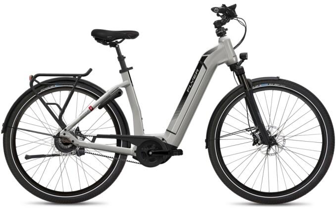 e-Citybike FLYER Gotour6 7.03R Comf Silver 2021