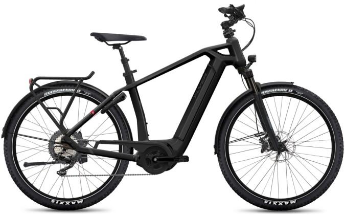 e-Citybike FLYER Gotour6 7.12 Gents Black 2021