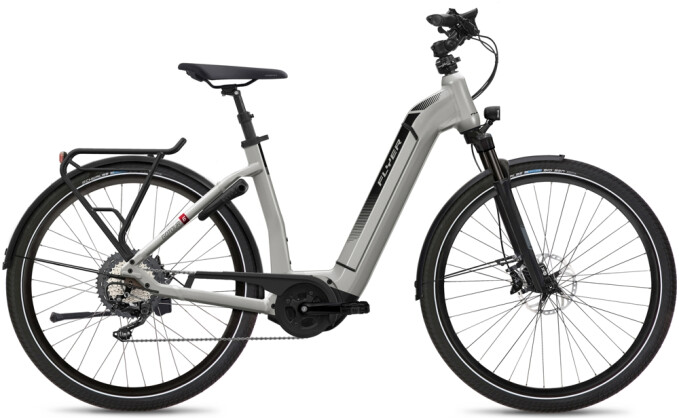 e-Citybike FLYER Gotour6 7.10 Comf Silver 2021