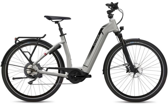 e-Citybike FLYER Gotour6 5.00 Comf Silver 2021