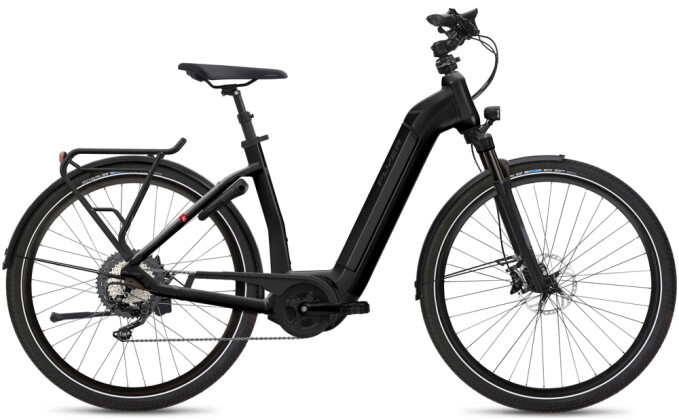 e-Citybike FLYER Gotour6 5.40 Comf Black 2021