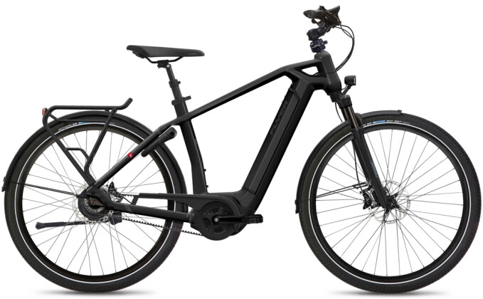 e-Citybike FLYER Gotour6 7.43 Gents Black 2021