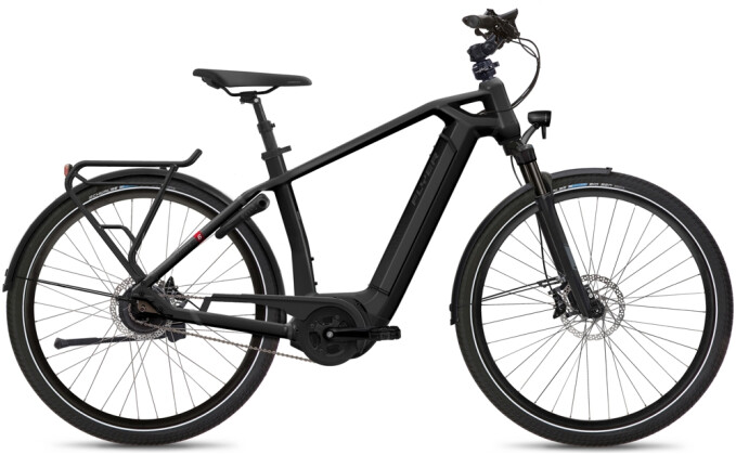 e-Citybike FLYER Gotour6 5.40 Gents Black 2021