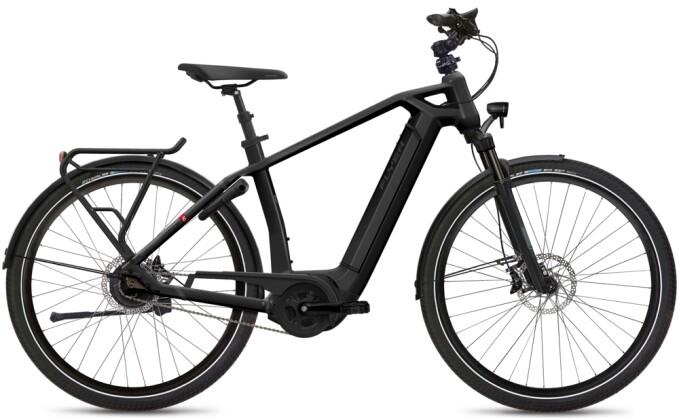 e-Citybike FLYER Gotour6 5.00 Gents Black 2021