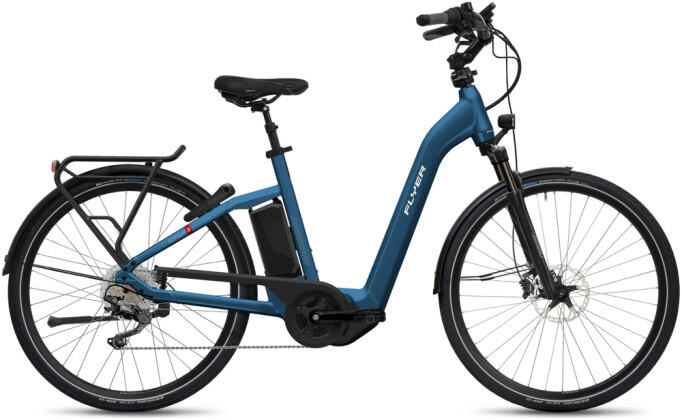 e-Citybike FLYER Gotour5 7.10 Comf Blue 2021