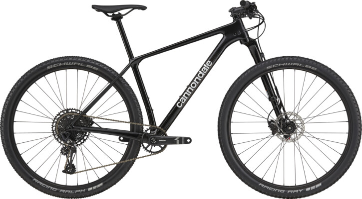 Mountainbike Cannondale F-Si Carbon 4 silver 2021