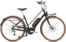 e-Trekkingbike Diamant Juna+ WIE Tiefschwarz