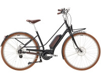 e-Citybike Diamant Juna Deluxe+ WIE Tiefschwarz
