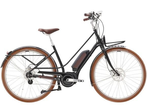 e-Citybike Diamant Juna Deluxe+ WIE Tiefschwarz 2021