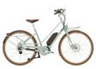 e-Citybike Diamant Juna Deluxe+ WIE Moreagrün