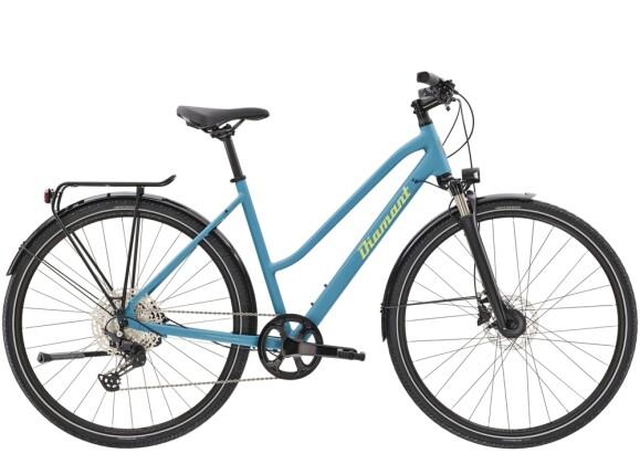 Trekkingbike Diamant Elan Super Deluxe TRA Zirkonblau 2021