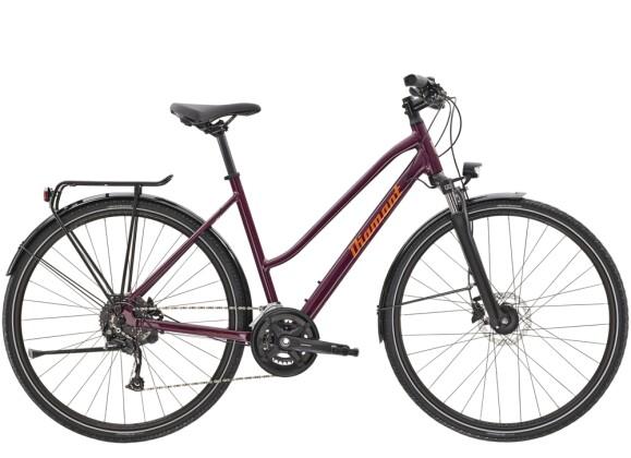 Trekkingbike Diamant Elan Deluxe TRA Purpur 2021